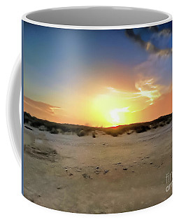 Sunset Over N Padre Island Beach Coffee Mug