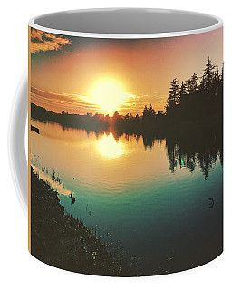 Sunset River Reflections  Coffee Mug