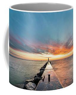 Sunset Skies Over Frankfort Coffee Mug