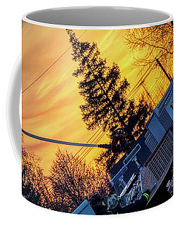 Sunset Streams Coffee Mug