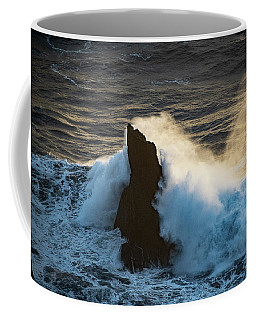 Surf At Sunset Coffee Mug