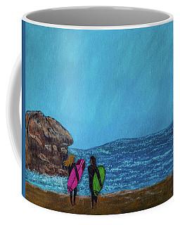 Surfer Girls Coffee Mug