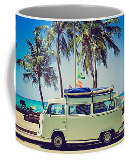 Surfer Van Coffee Mug
