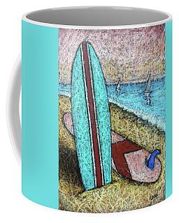 Surfing And Sailing Coffee Mug