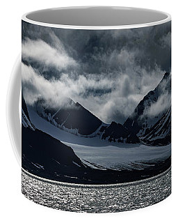 Svalbard Mountains Coffee Mug