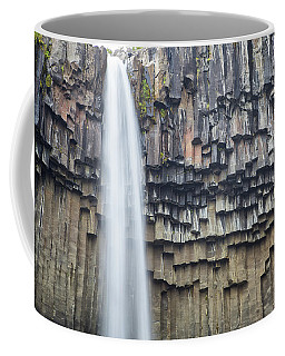 Coffee Mug featuring the photograph Svartifoss Portrait Iceland by Nathan Bush