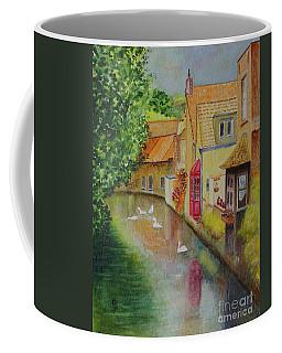 Swan Canal Coffee Mug