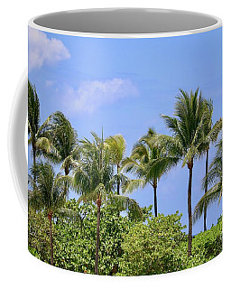 Swaying Palm Trees Coffee Mug