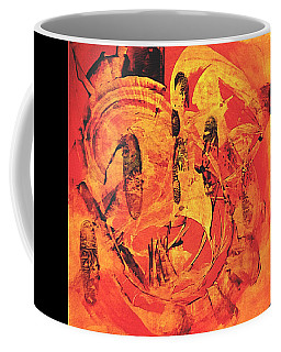 Coffee Mug featuring the painting Sweep by 'REA' Gallery