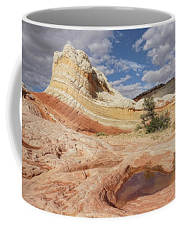 Sweeping Structures In Sandstone Coffee Mug