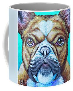 Sweet Heart Bulldog Coffee Mug