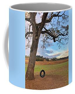 Swing In Tree Coffee Mug