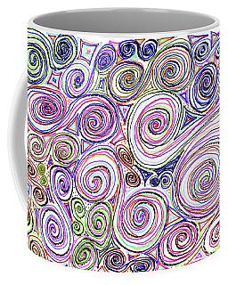 Swirls II Coffee Mug