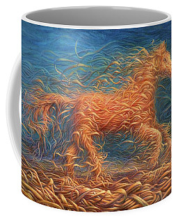 Swirly Horse 1 Coffee Mug