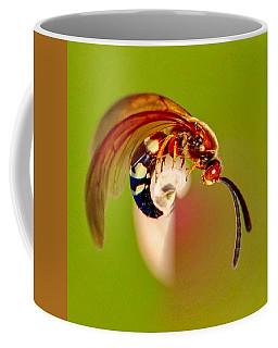Swirly Wasp Coffee Mug