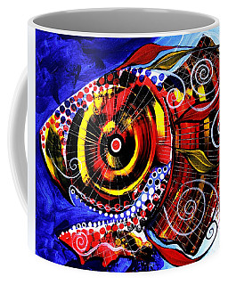 Swollen, Red Cavity Fish Coffee Mug