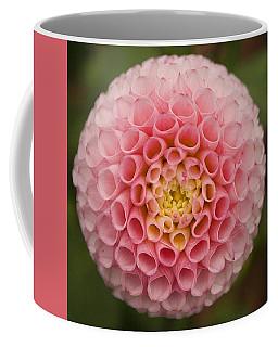 Symmetrical Dahlia Coffee Mug