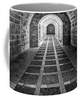 Symmetry In Black And White Coffee Mug