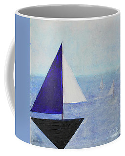 Coffee Mug featuring the painting Tactical by Kim Nelson