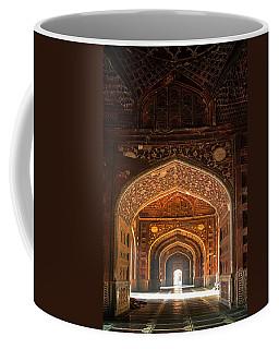 Taj Mahal Interior, Agra, Uttar Coffee Mug