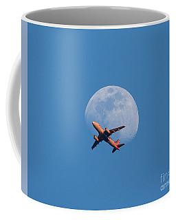 Takeoff At Sunset Coffee Mug
