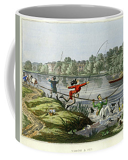 Taking A Fly Coffee Mug