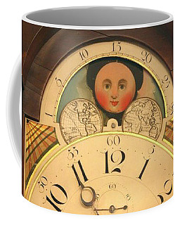 Tall Case Clock Face, Around 1816 Coffee Mug