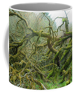 Coffee Mug featuring the photograph Tangled Moss by Mark Duehmig