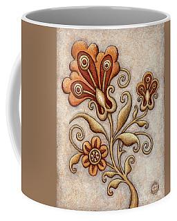 Tapestry Flower 3 Coffee Mug