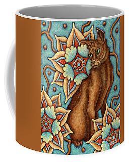 Tapestry Cat Coffee Mug
