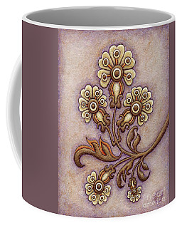 Tapestry Flower 4 Coffee Mug