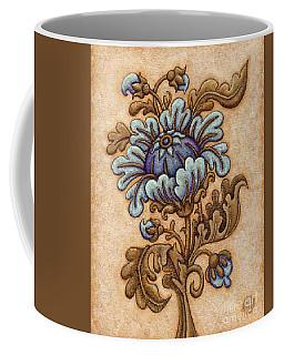 Tapestry Flower 5 Coffee Mug