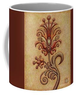 Tapestry Flower 7 Coffee Mug