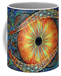 Coffee Mug featuring the digital art Taste And See by Missy Gainer