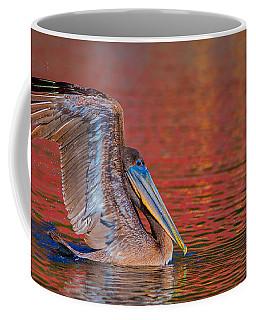 Tchefuncte Pelican Coffee Mug