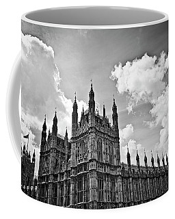 Tea Time With Big Ben At Westminster - Classic Edition Coffee Mug