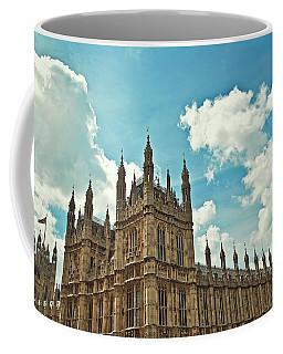 Tea Time With Big Ben At Westminster Coffee Mug