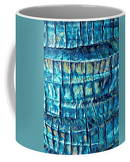 Teal Palm Bark Coffee Mug