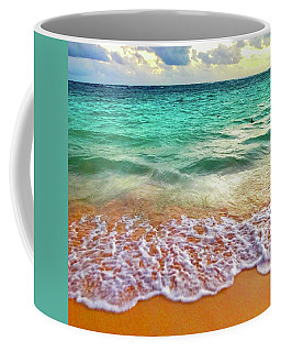 Teal Shore  Coffee Mug
