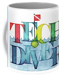 Technical Diver Colorful Coffee Mug