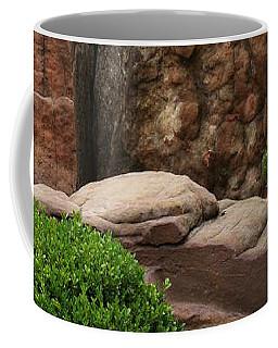 Coffee Mug featuring the photograph Teeny Weeny And Biggy Wiggy - Rock Formations by Debi Dalio