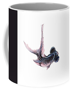 Telescope Fish Coffee Mug