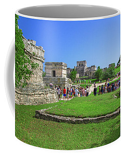 Temples Of Tulum Coffee Mug
