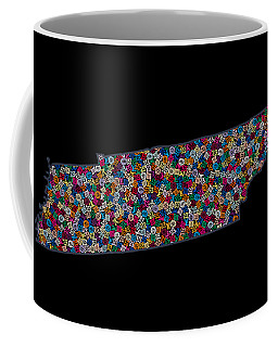 Tennessee Map - 2 Coffee Mug