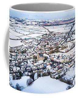 Tregaron In The Snow, From The Air Coffee Mug