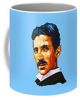 Tesla - Pure Genius Coffee Mug