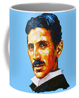 Tesla - Pure Genius Coffee Mug