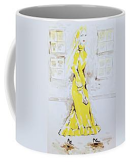 Fashion Girl Yellow 2018 Coffee Mug