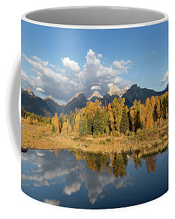 Coffee Mug featuring the photograph Teton Glory by Ronnie and Frances Howard