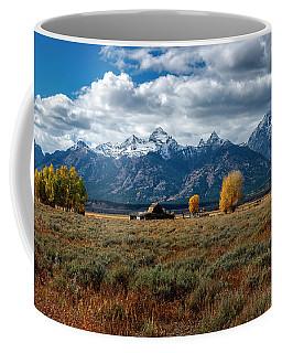 Tetons And Mormon Row Coffee Mug
